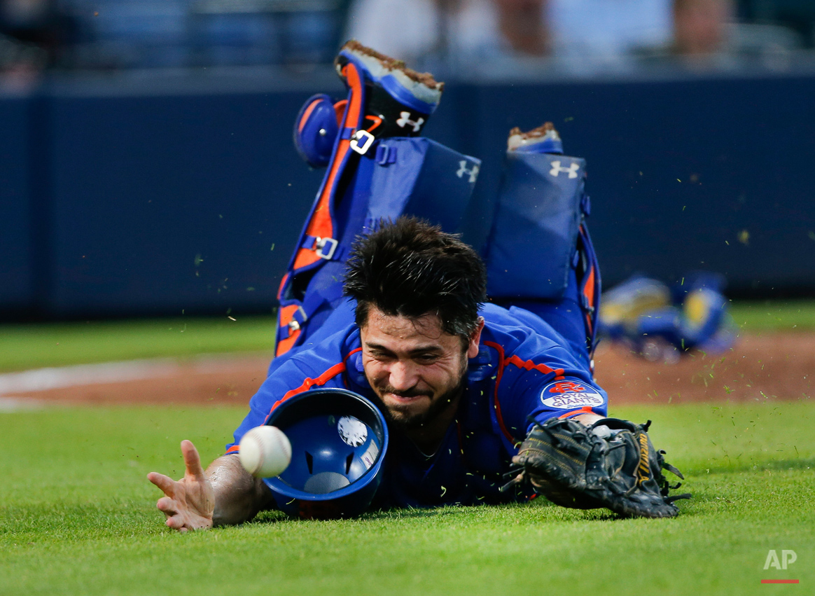 APTOPIX Mets Braves Baseball
