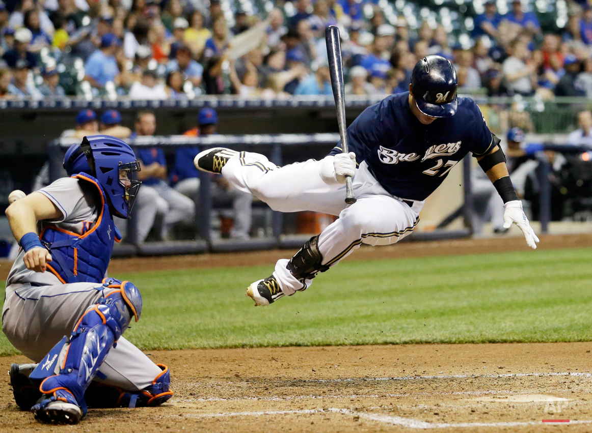 APTOPIX Mets Brewers Baseball
