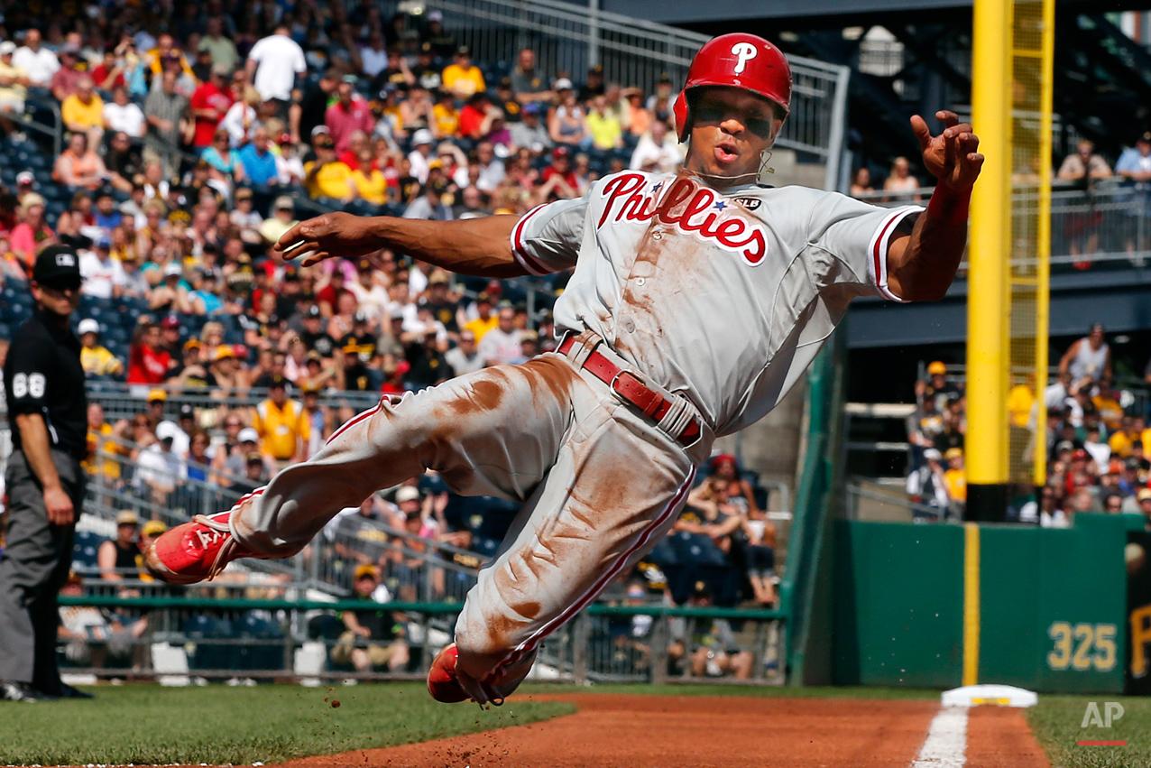 APTOPIX Phillies Pirates Baseball