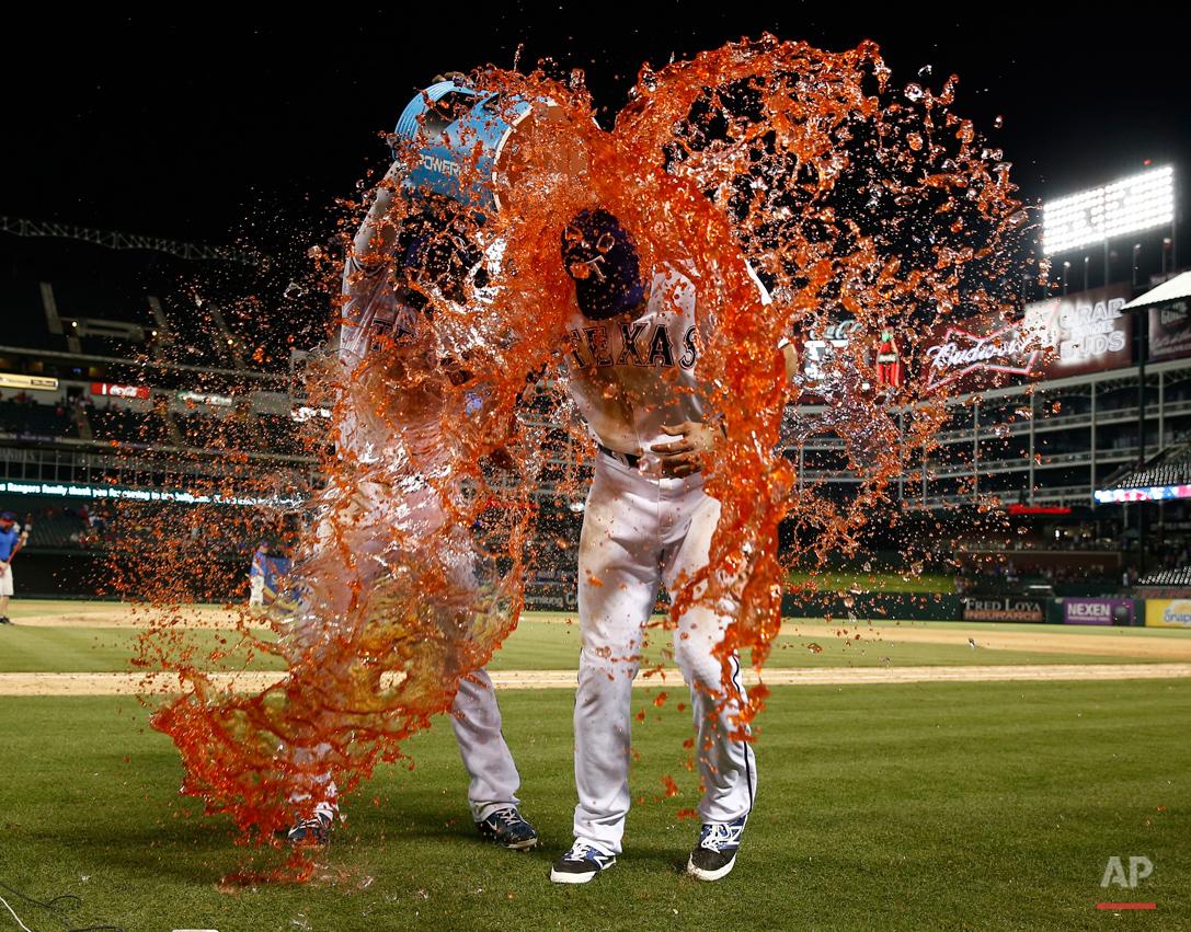 APTOPIX White Sox Rangers Baseball