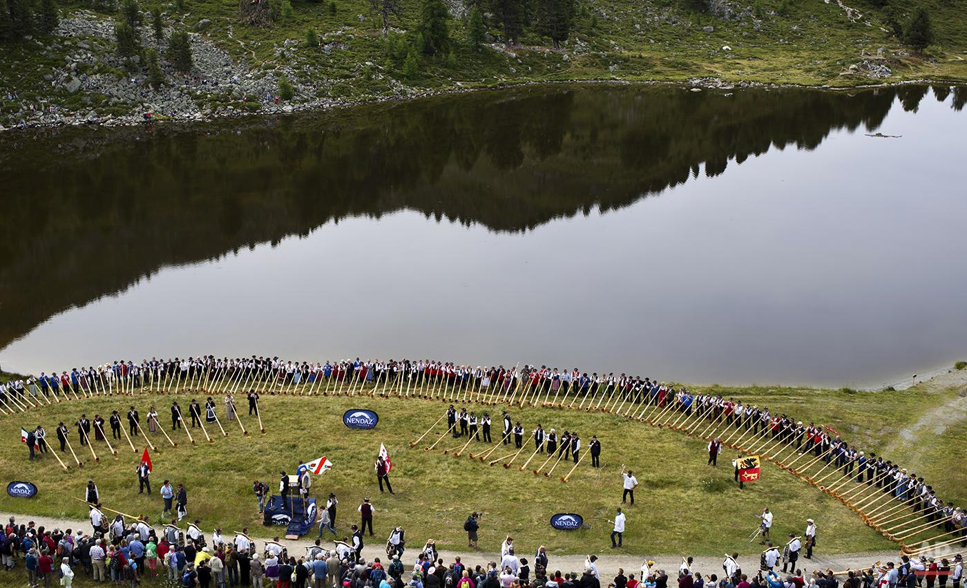 Switzerland Alpenhorn Festival