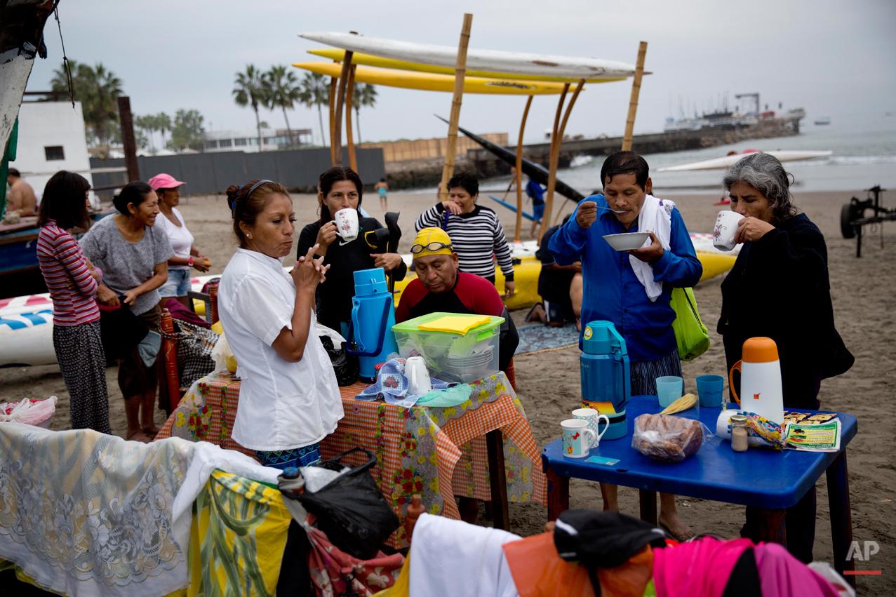 Peru Sea Therapy Photo Essay