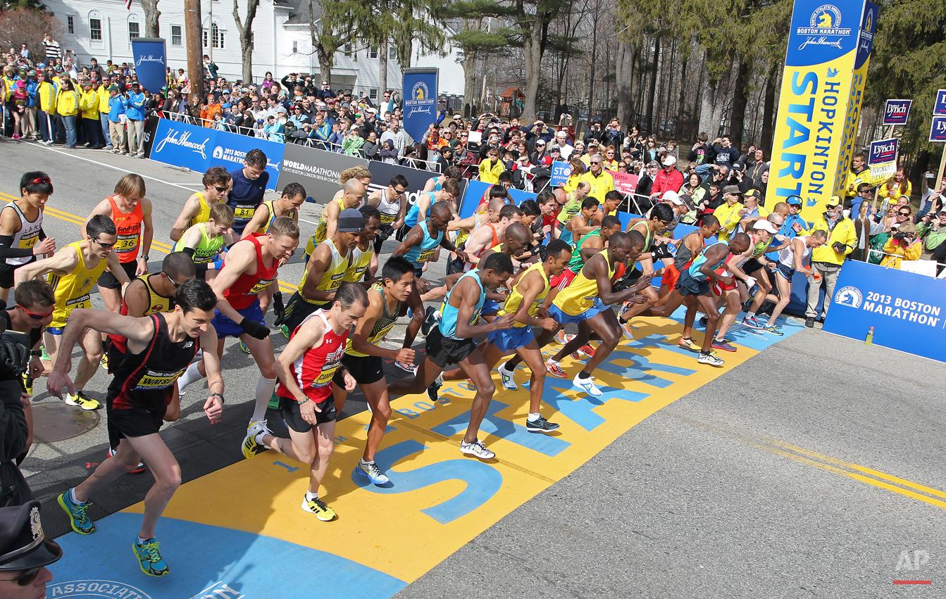 Boston Marathon Bombing Photo Gallery