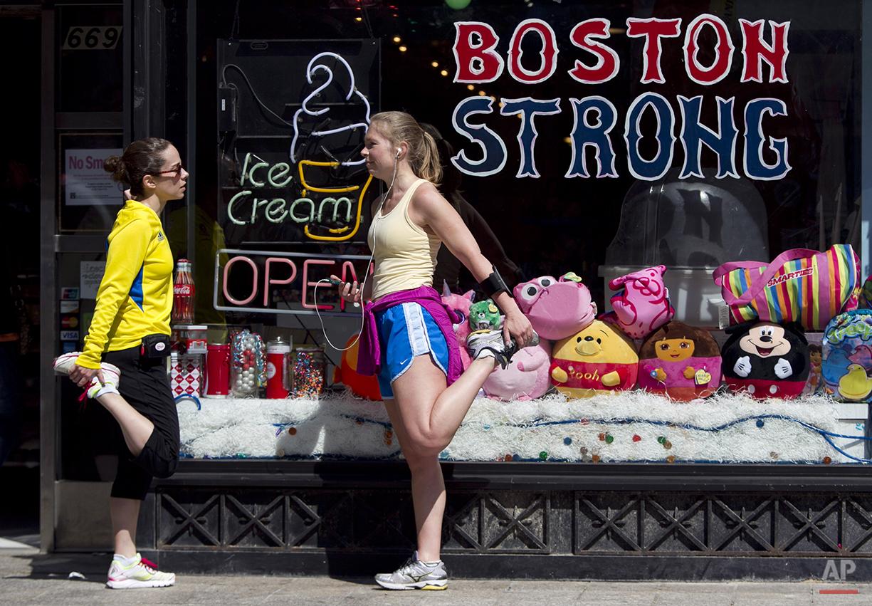 Boston Marathon Finish Line