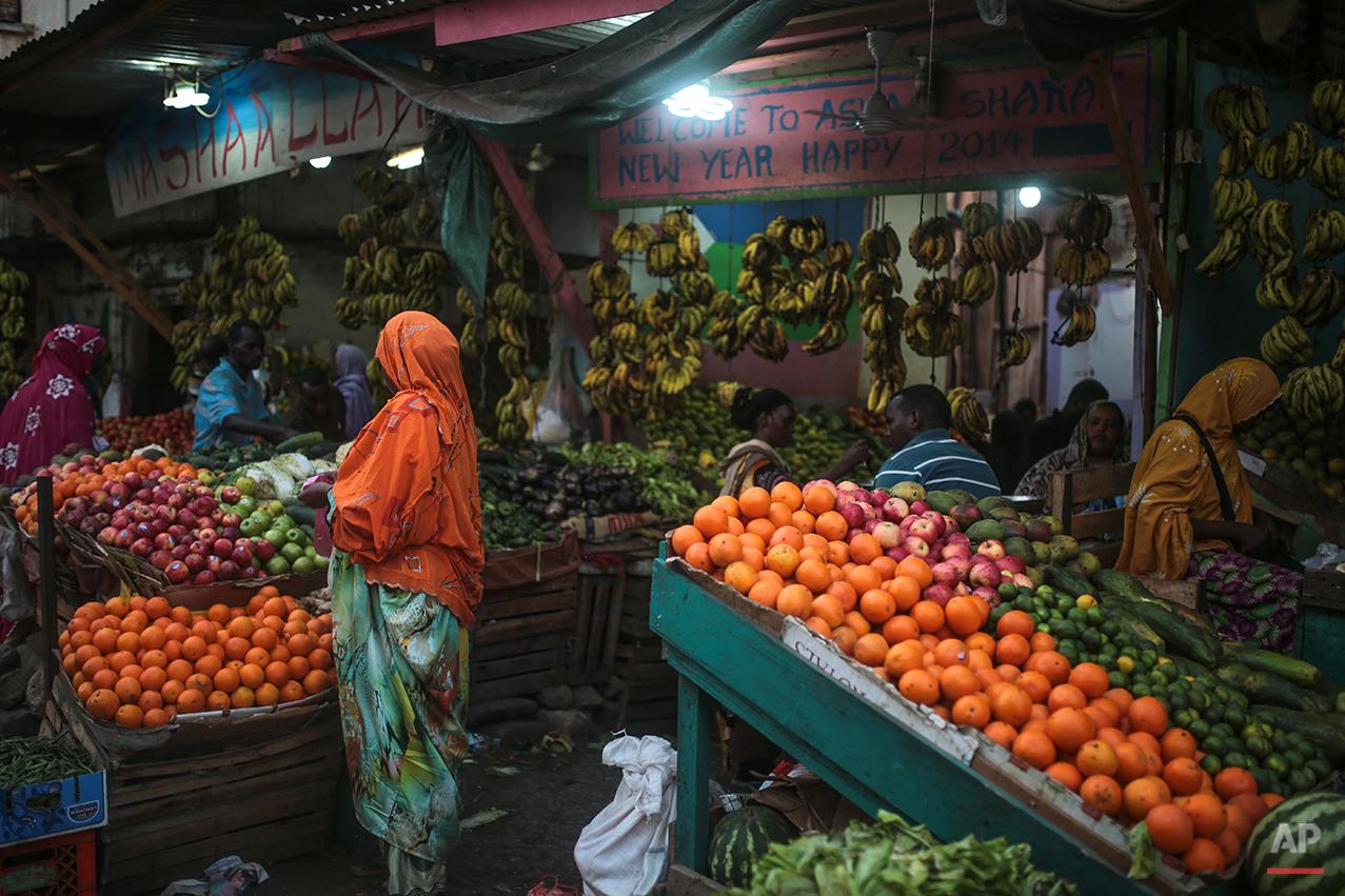 APTOPIX Djibouti Daily Life