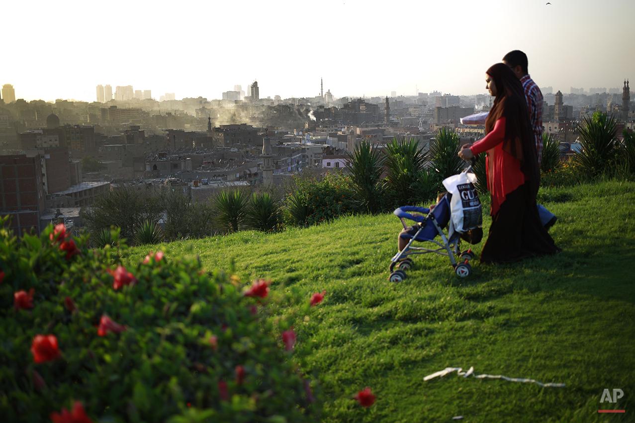 APTOPIX Mideast Egypt Daily Life