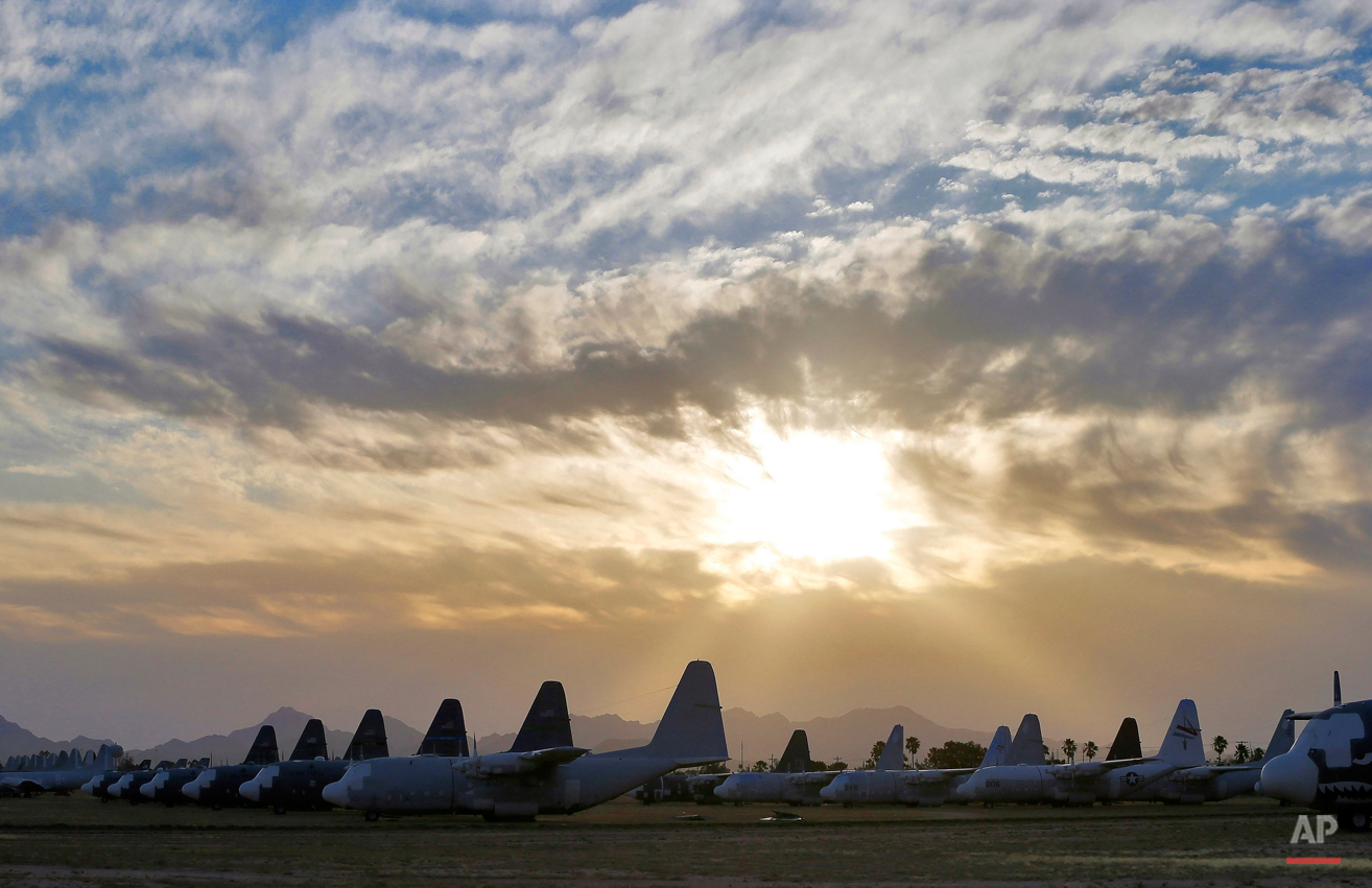 Military Aircraft Boneyard Photo Essay