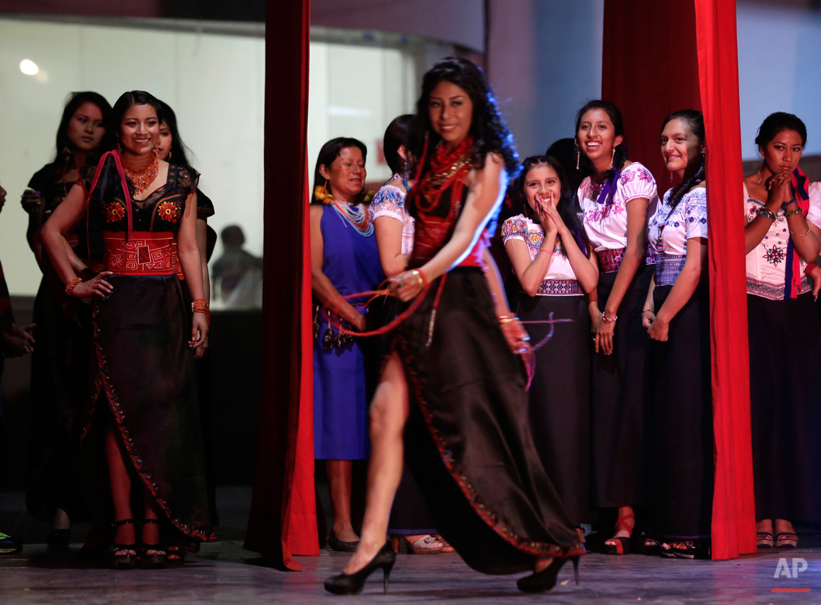 APTOPIX Ecuador Indigenous Beauty Contest Photo Gallery
