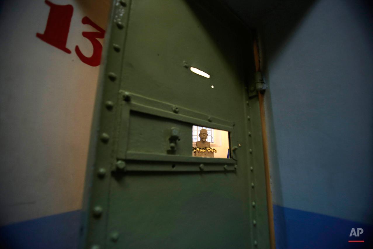 APTOPIX Ecuador Abandoned Prison Photo Essay