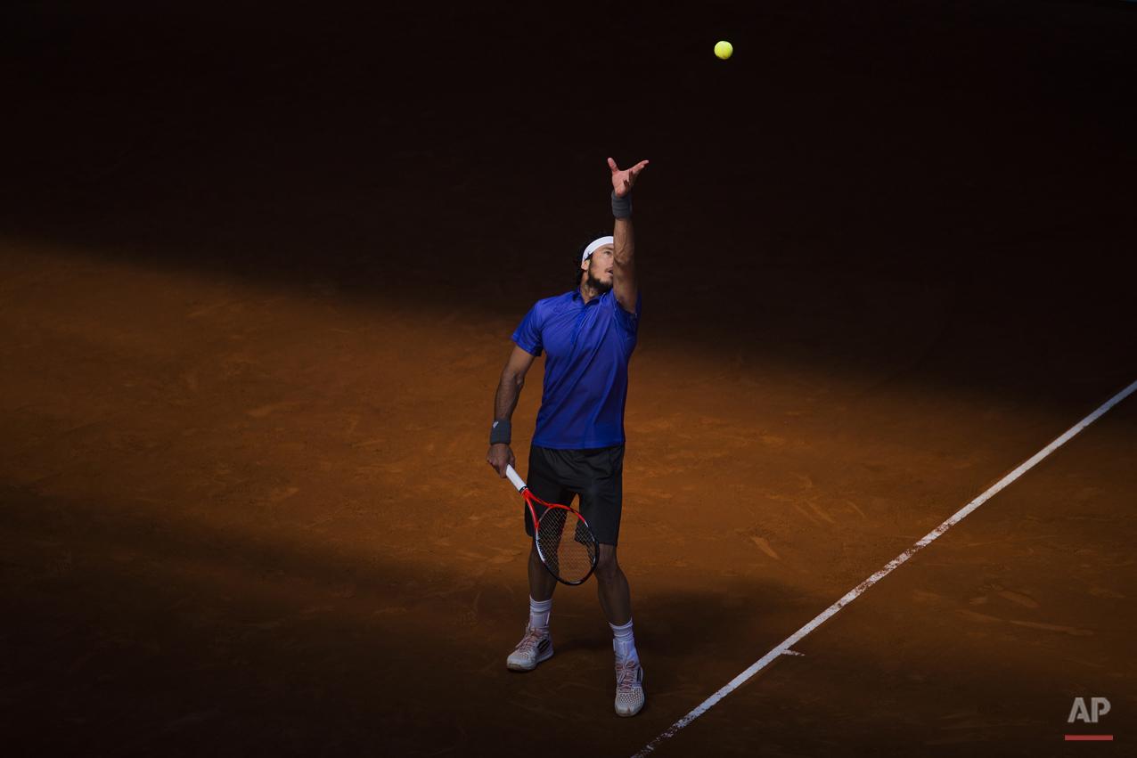APTOPIX Spain Madrid Open Tennis