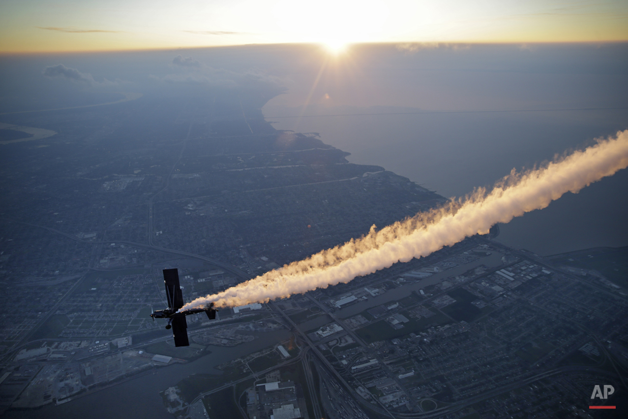New Orleans Skywriter Photo Gallery