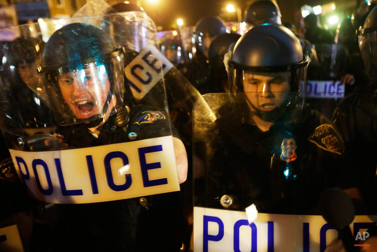 APTOPIX Baltimore Police Death