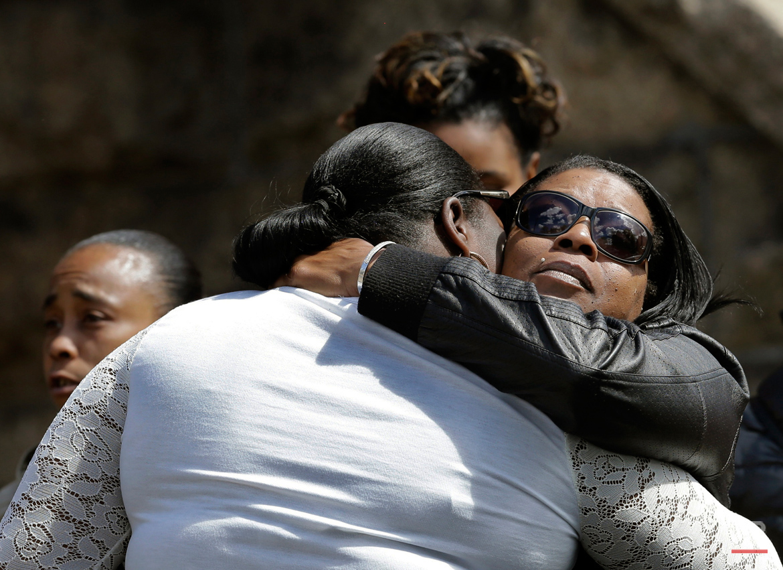 APTOPIX Teen Killed Drive By Shooting
