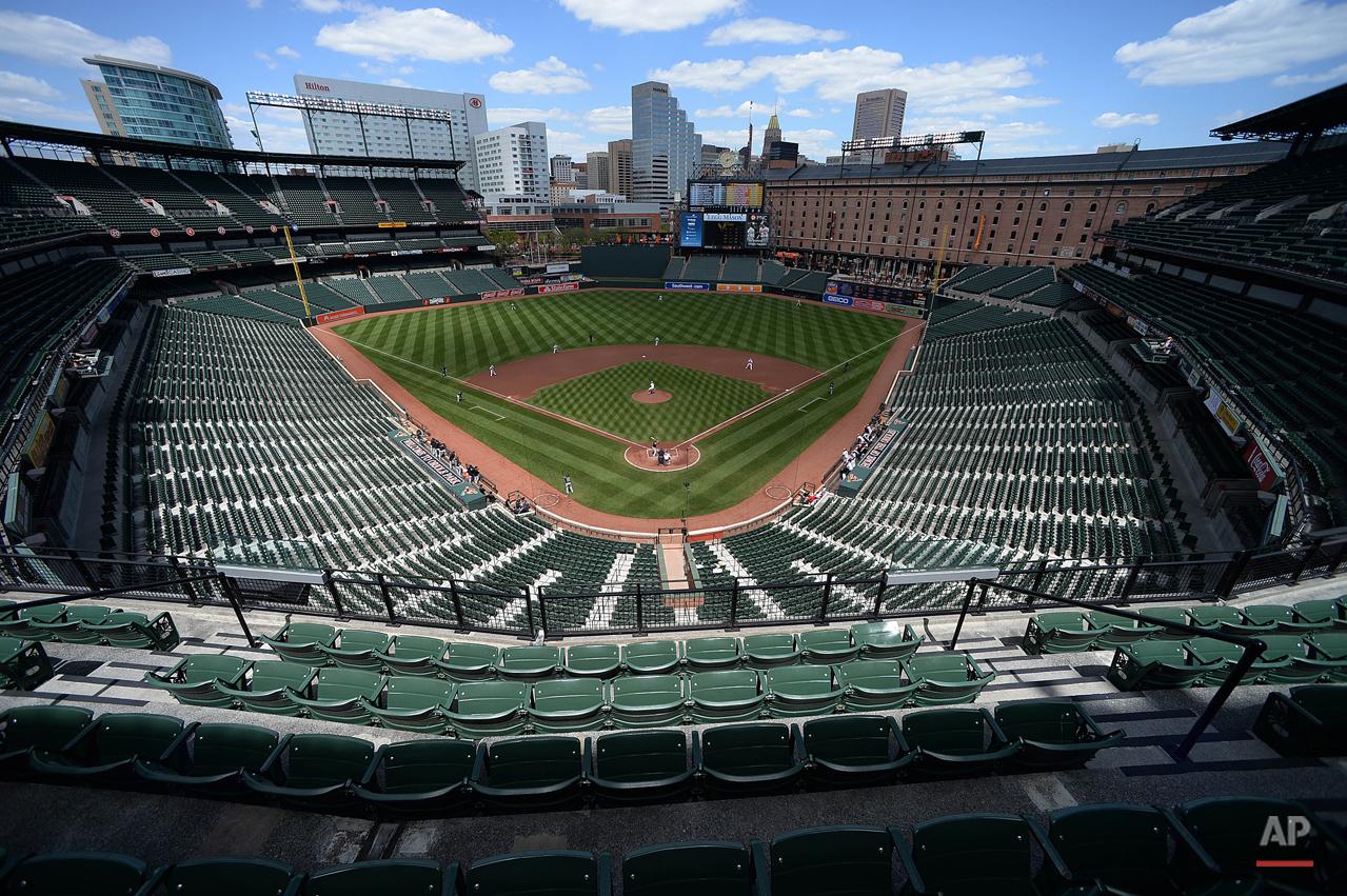 APTOPIX White Sox Orioles Baseball