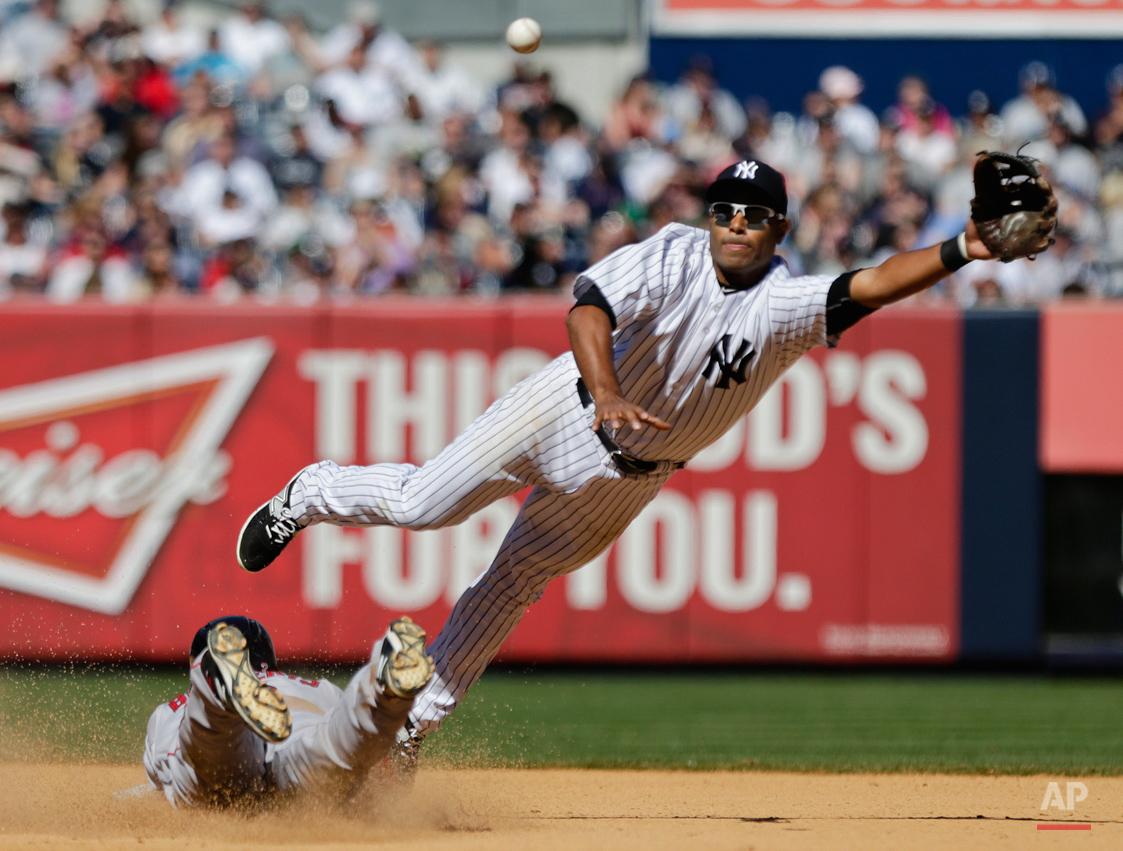 APTOPIX Red Sox Yankees Baseball