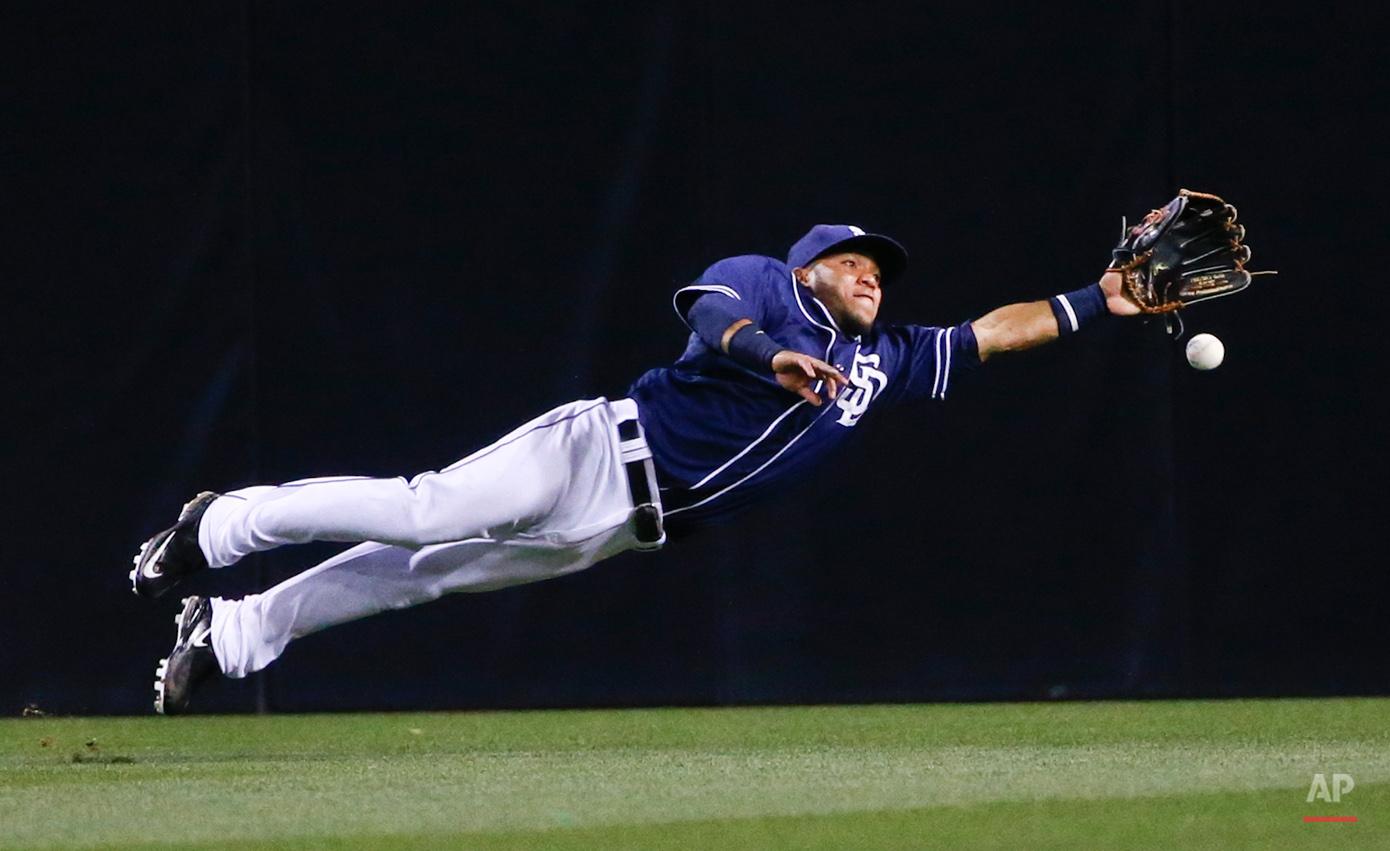 APTOPIX Dodgers Padres Baseball