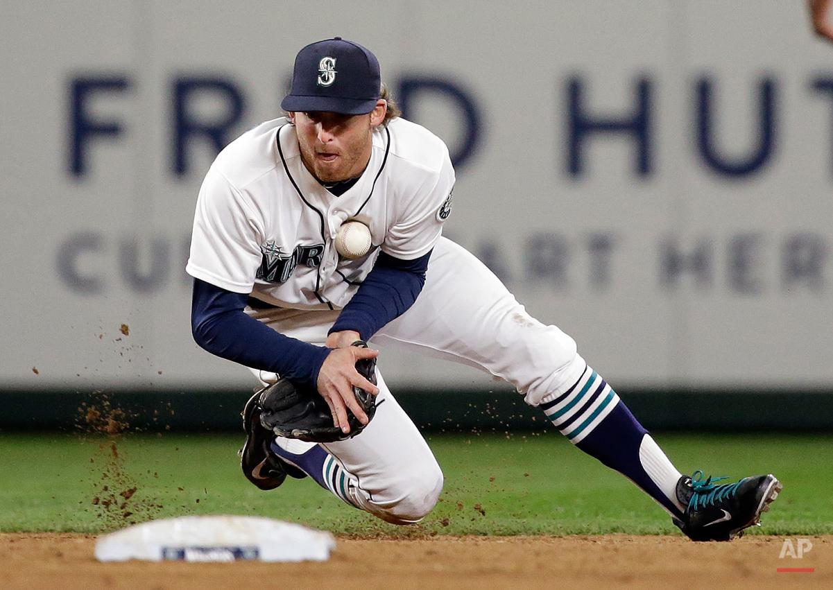 APTOPIX Astros Mariners Baseball