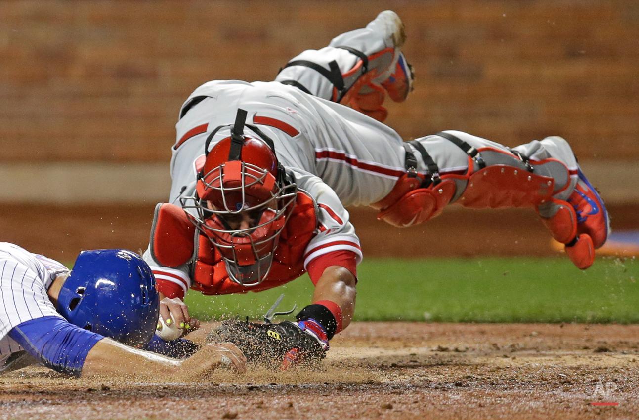 APTOPIX Phillies Mets Baseball