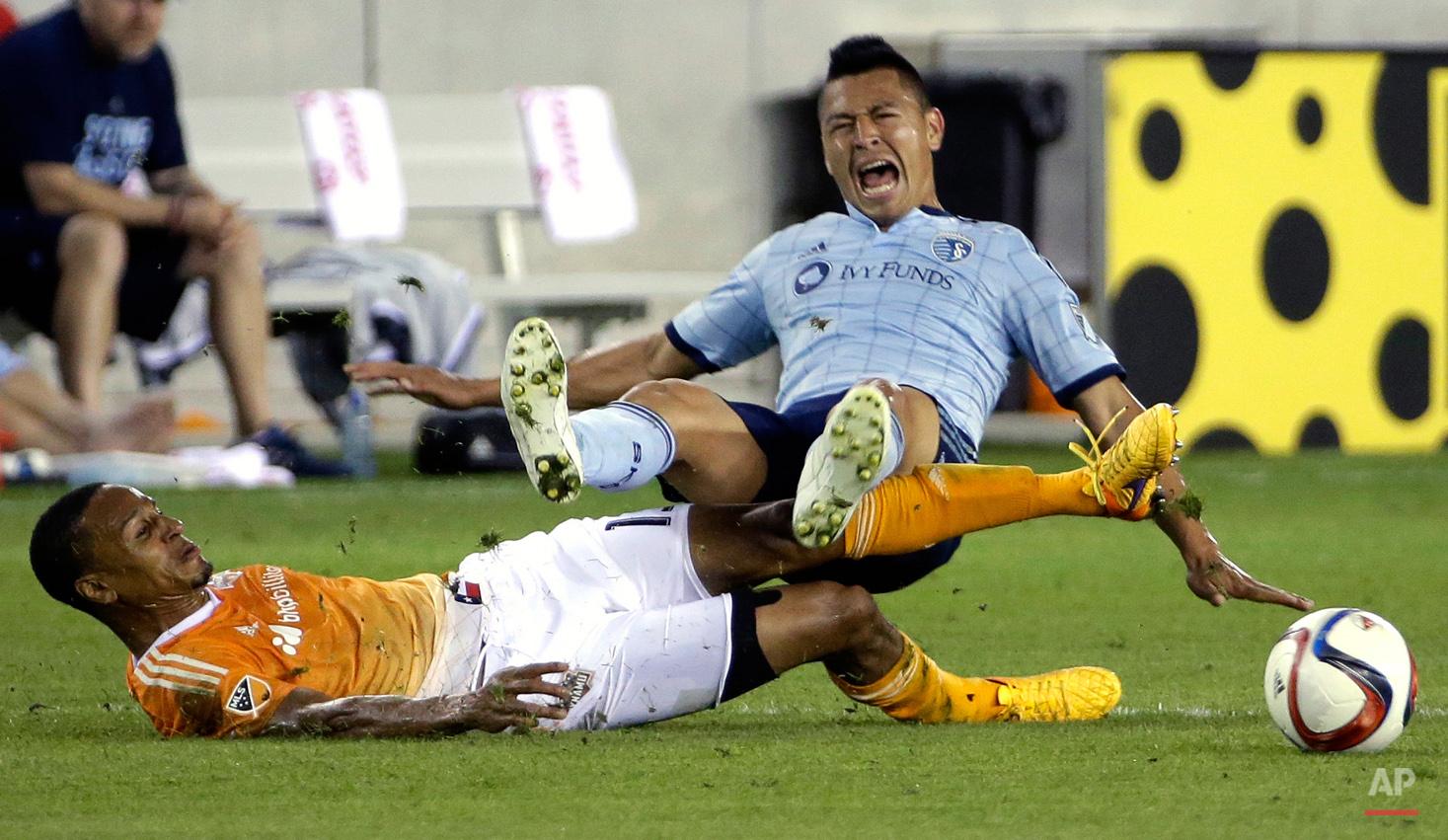 APTOPIX MLS Sporting KC Dynamo Soccer