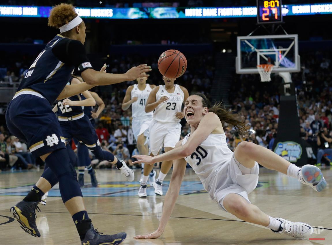 APTOPIX NCAA Notre Dame UConn Final Four Basketball