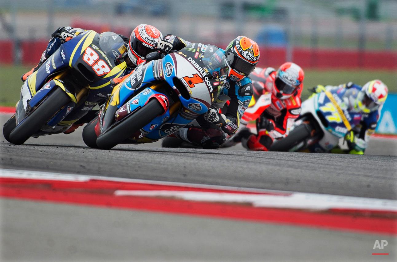 APTOPIX Austin GP Motorcycle Racing