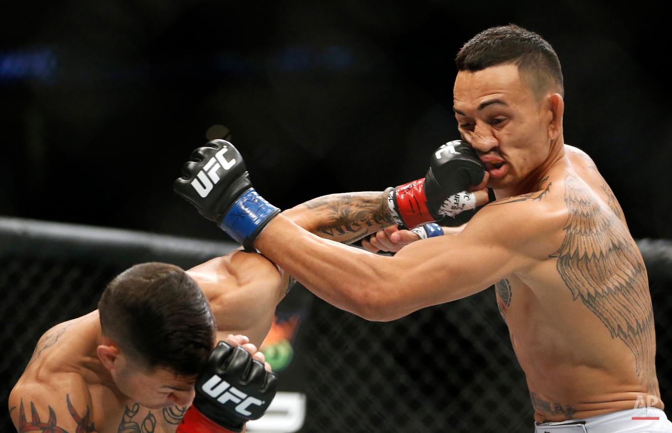 APTOPIX UFC Fight Night Mixed Martial Arts