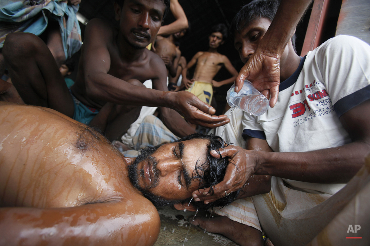 APTOPIX Indonesia Rohingya Boat People