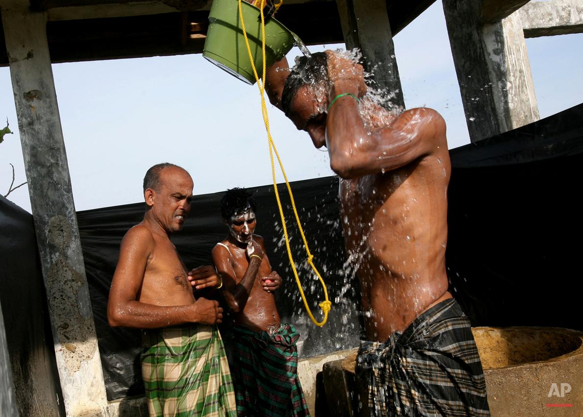 Indonesia Rohingya Boat People
