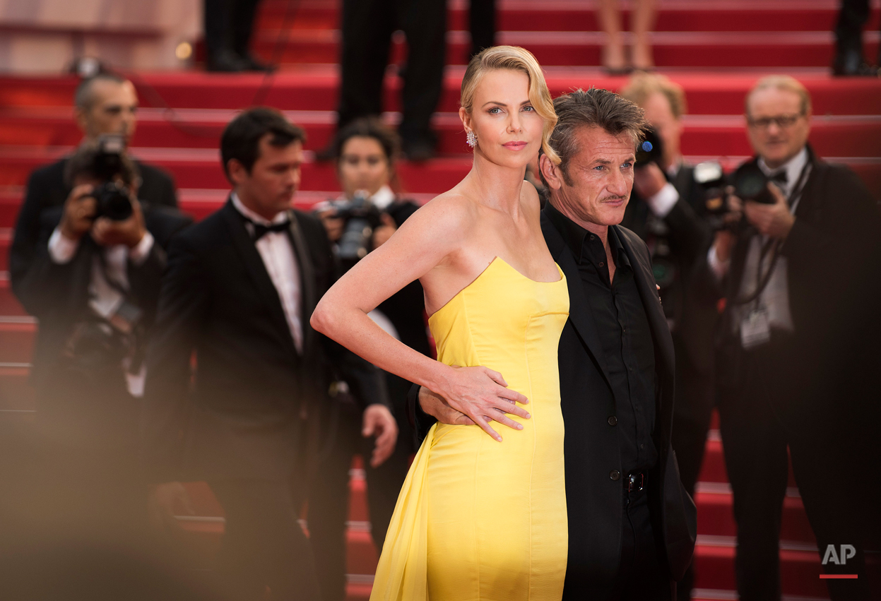 Charlize Theron and Sean Penn 2015