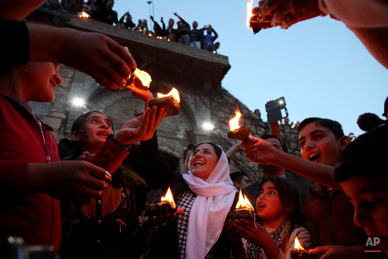 APTOPIX Mideast Iraq Yazidi New Year Photo Gallery