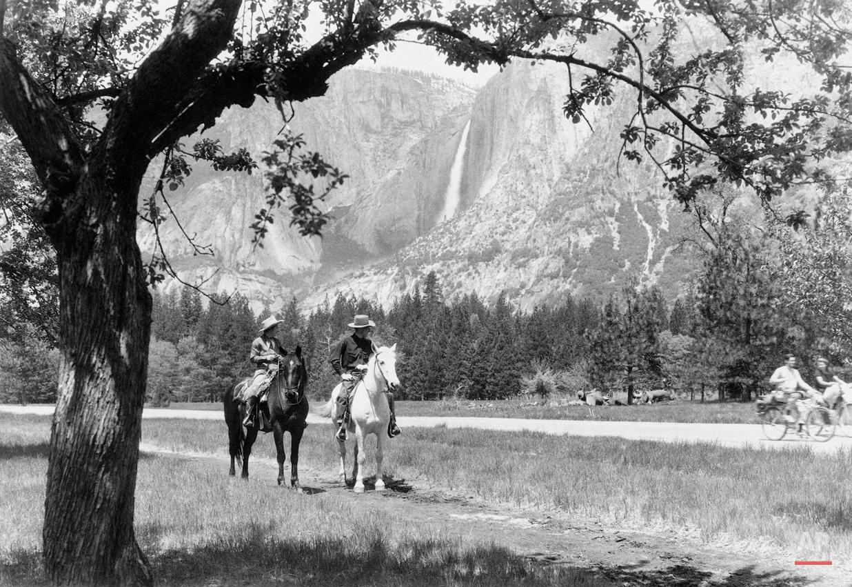 National Parks Yosemite 1944