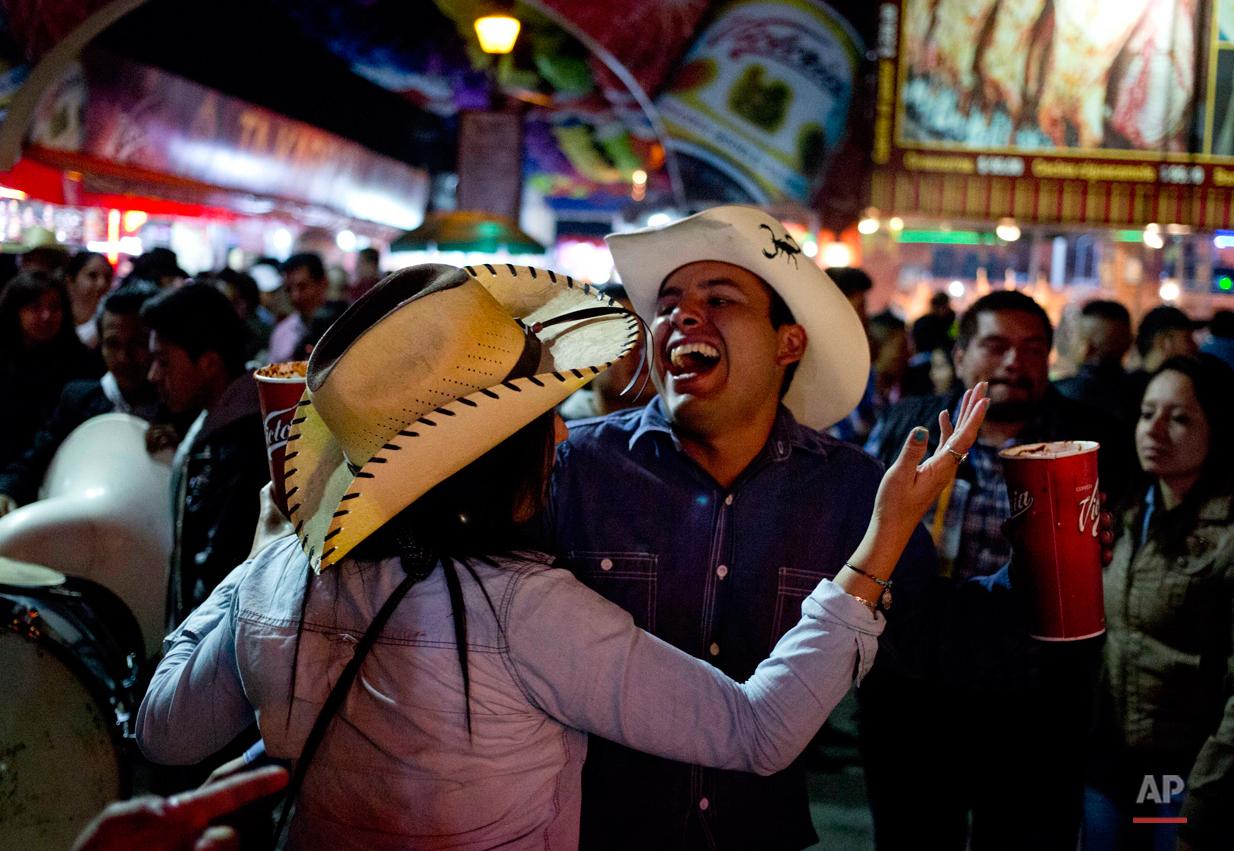 APTOPIX Mexico Texcoco Fair Photo Gallery