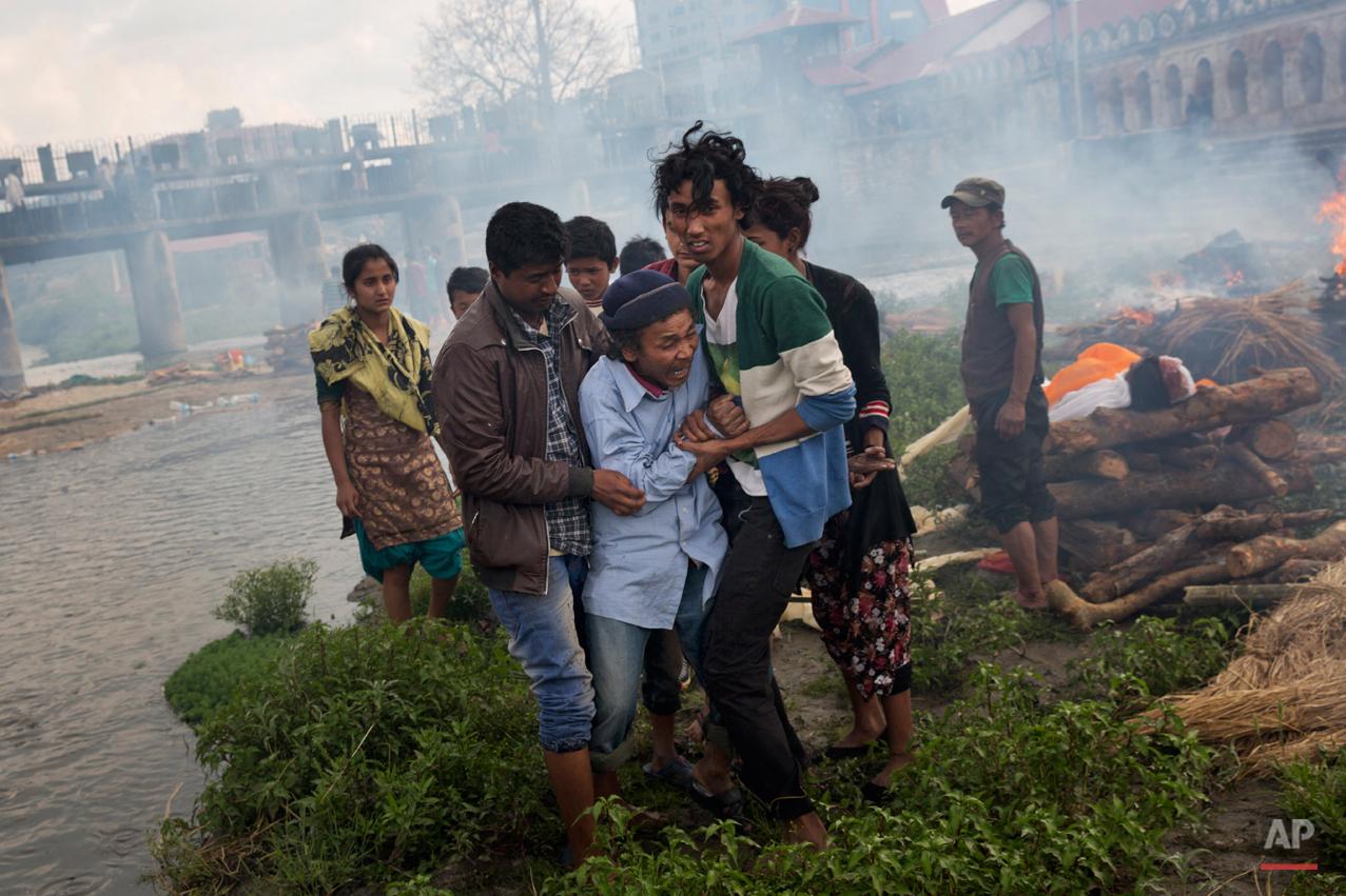 APTOPIX Nepal Earthquake