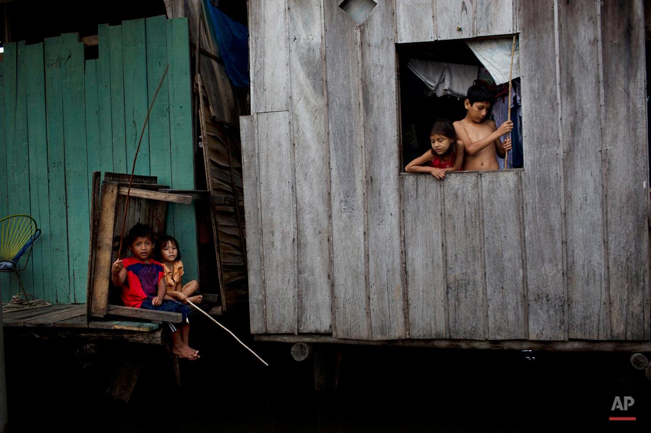 APTOPIX Peru Poor Man's Venice Photo Gallery
