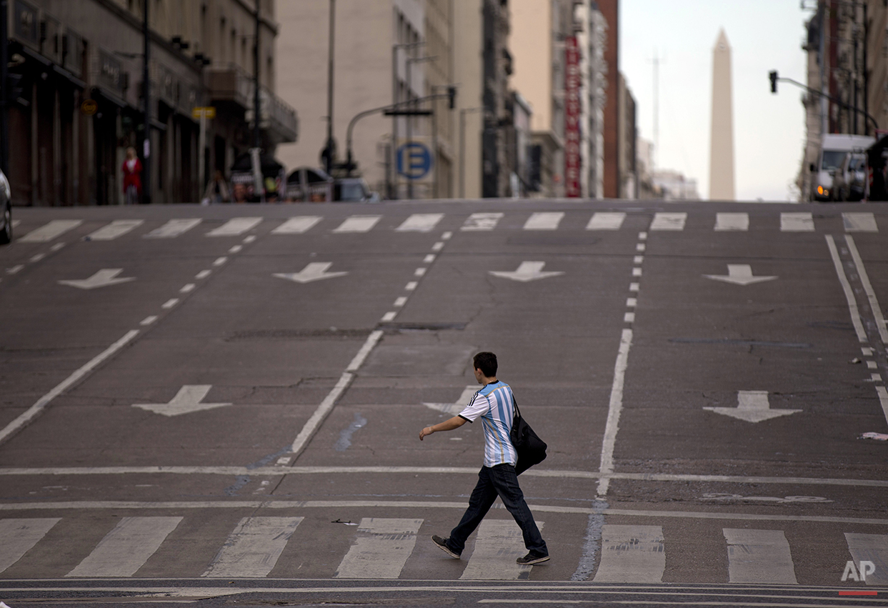 Argentina Transportation Strike
