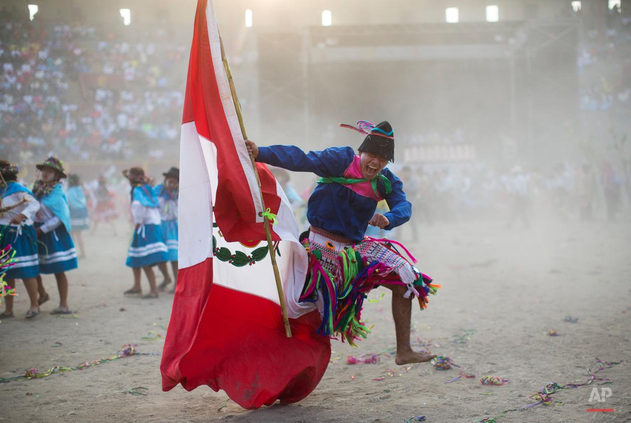 APTOPIX Peru Ayacucho Dancers Photo Gallery