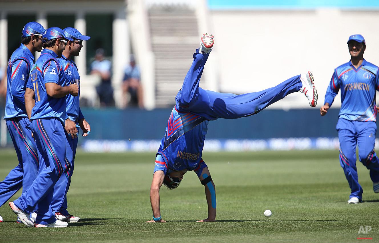 Cricket WCup Afghanistan Scotland