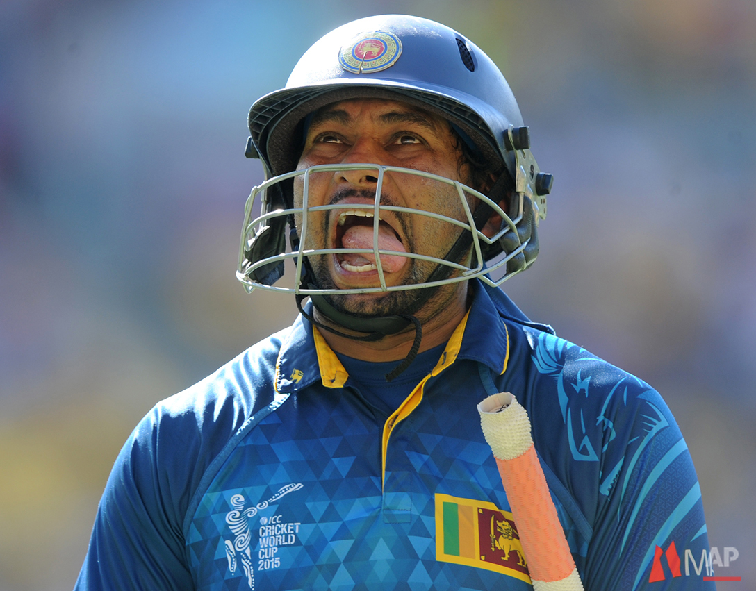 Cricket WCup England Sri Lanka