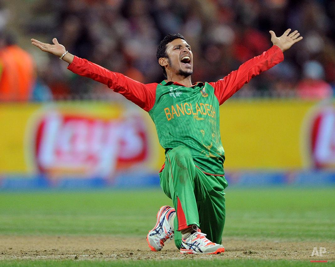 Cricket WCup Bangladesh New Zealand