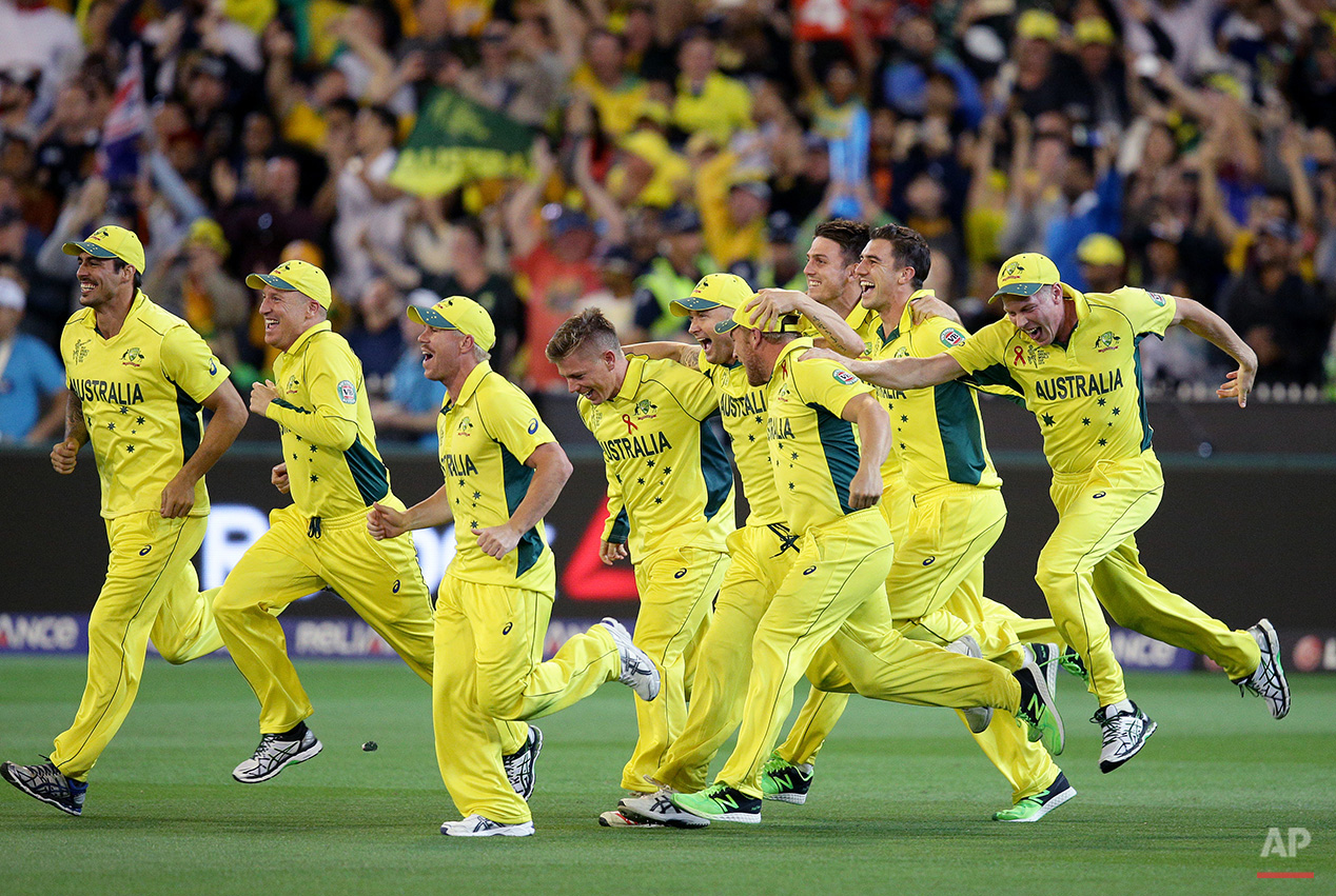 APTOPIX Cricket WCup Australia New Zealand