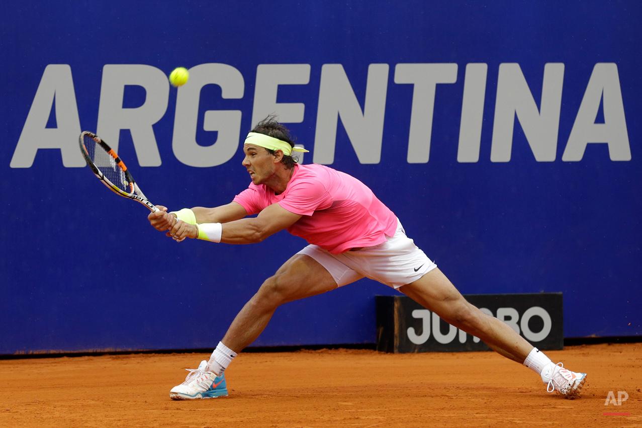 APTOPIX Argentina Tennis Open