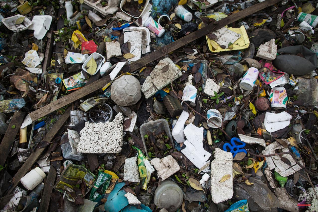 APTOPIX Brazil OLY Rio 2016 Dirty Water