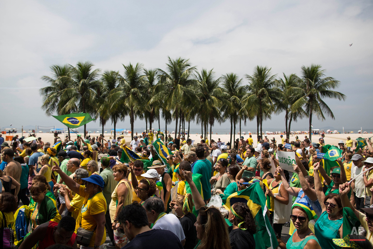 APTOPIX Brazil Protests