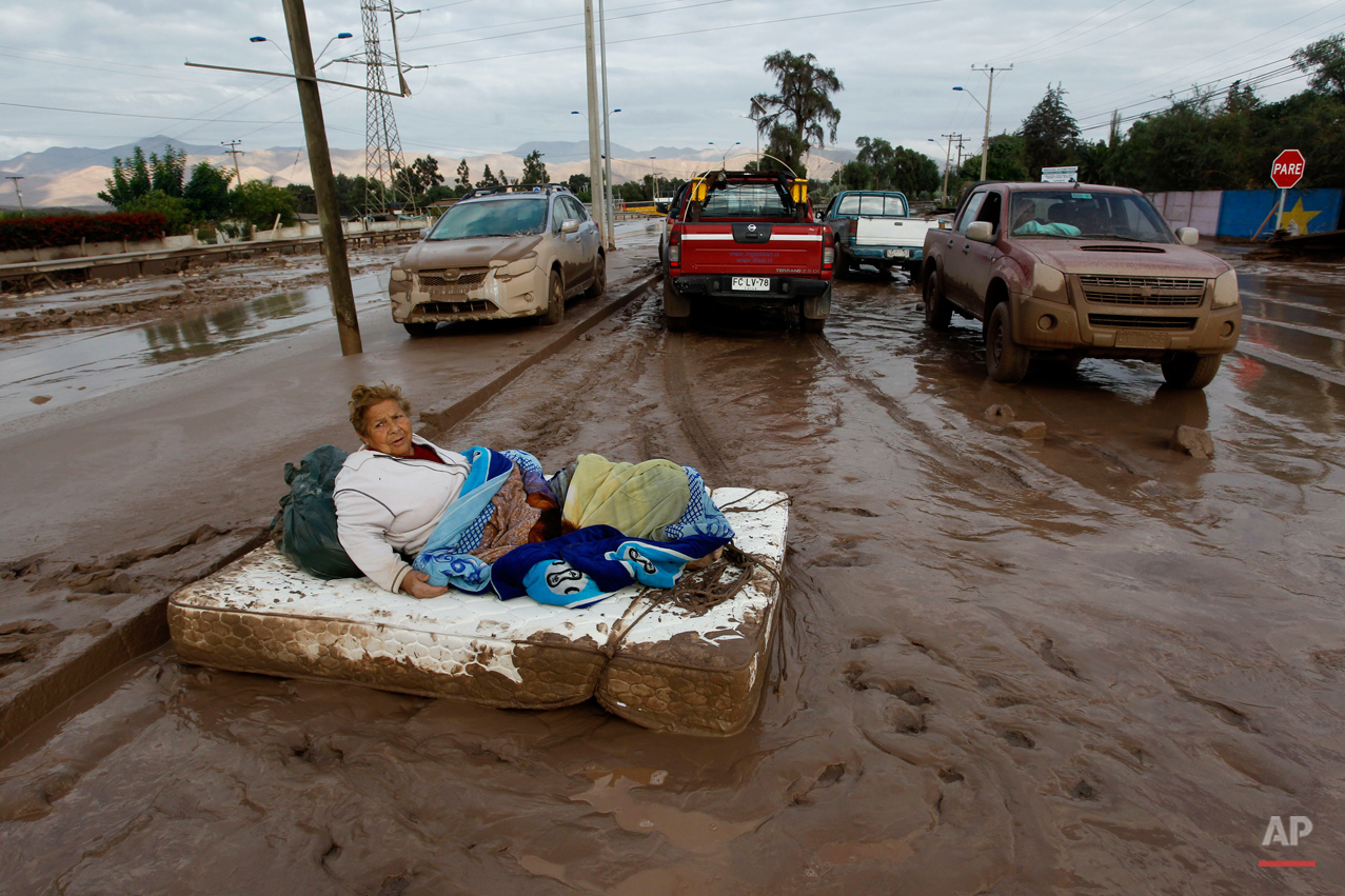 APTOPIX Chile Flooding