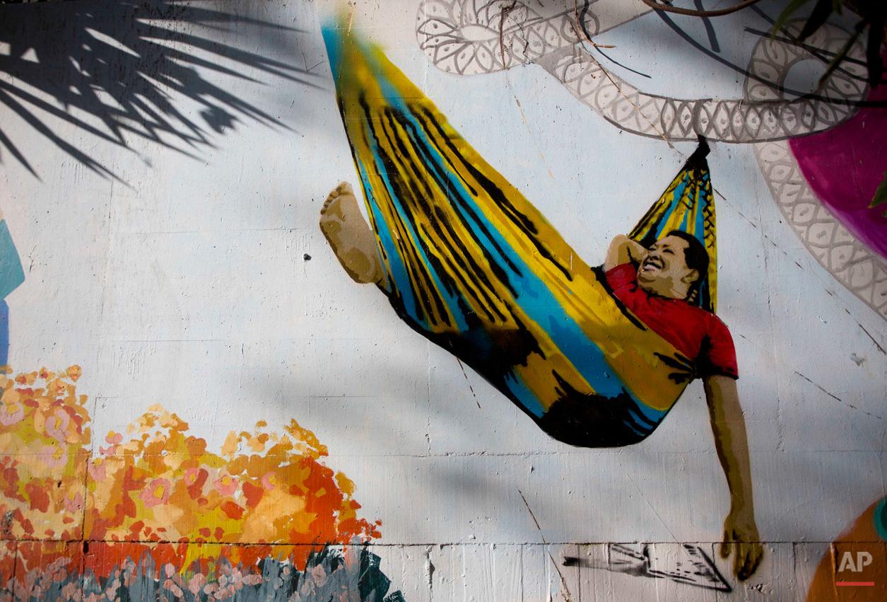 APTOPIX Venezuela Chavez Photo Gallery