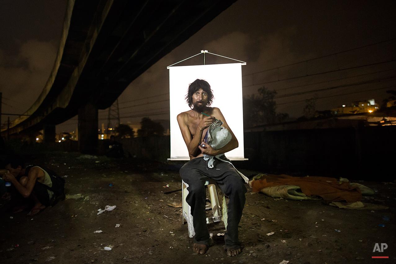 APTOPIX Brazil Crackland Portraits Photo Galley