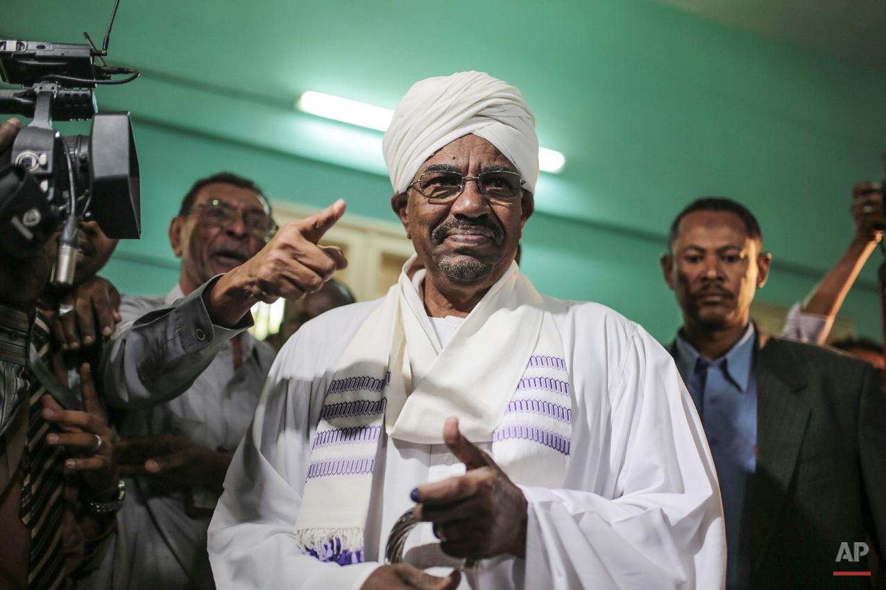 Mideast Sudan Elections