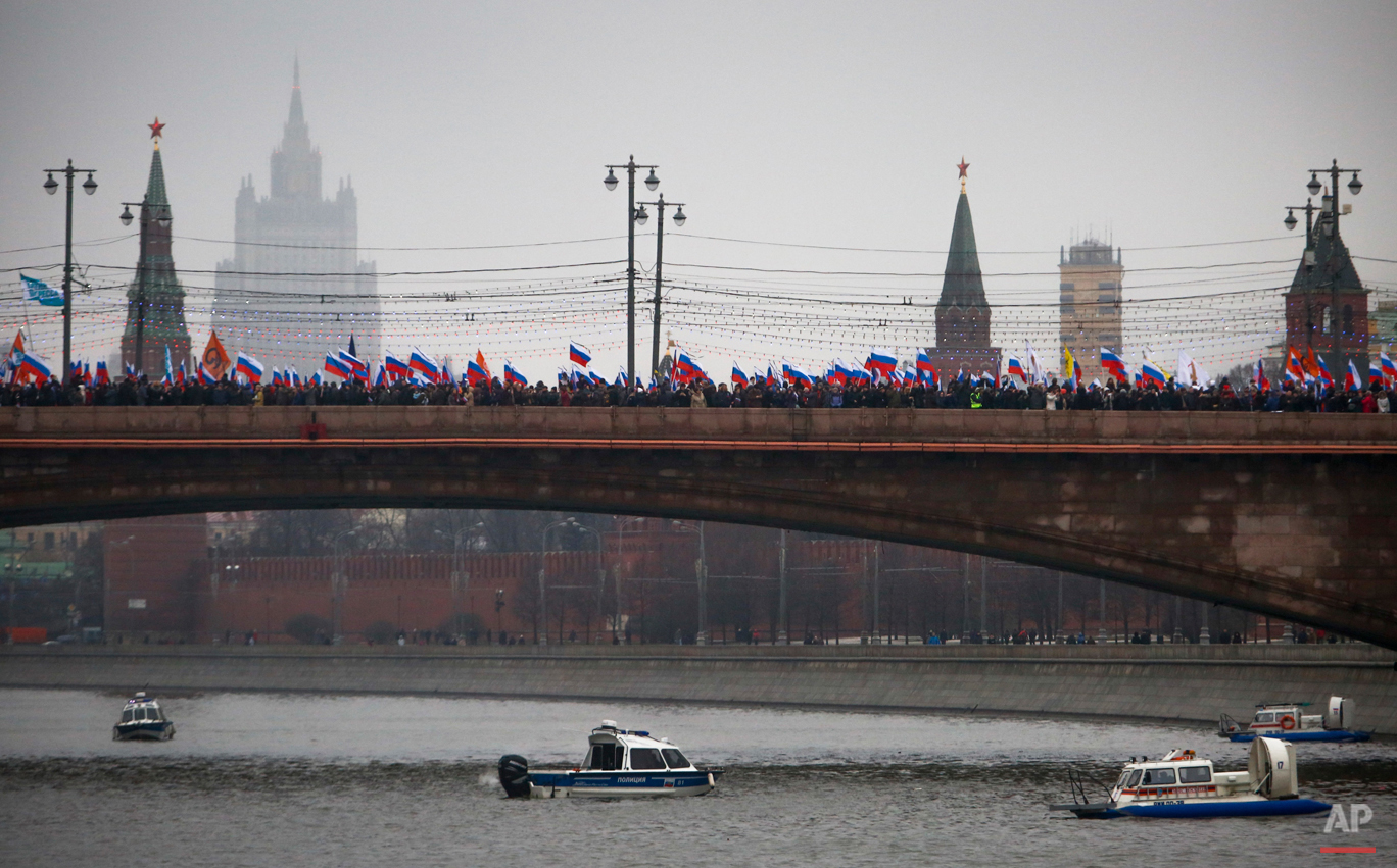 APTOPIX Russia Opposition March