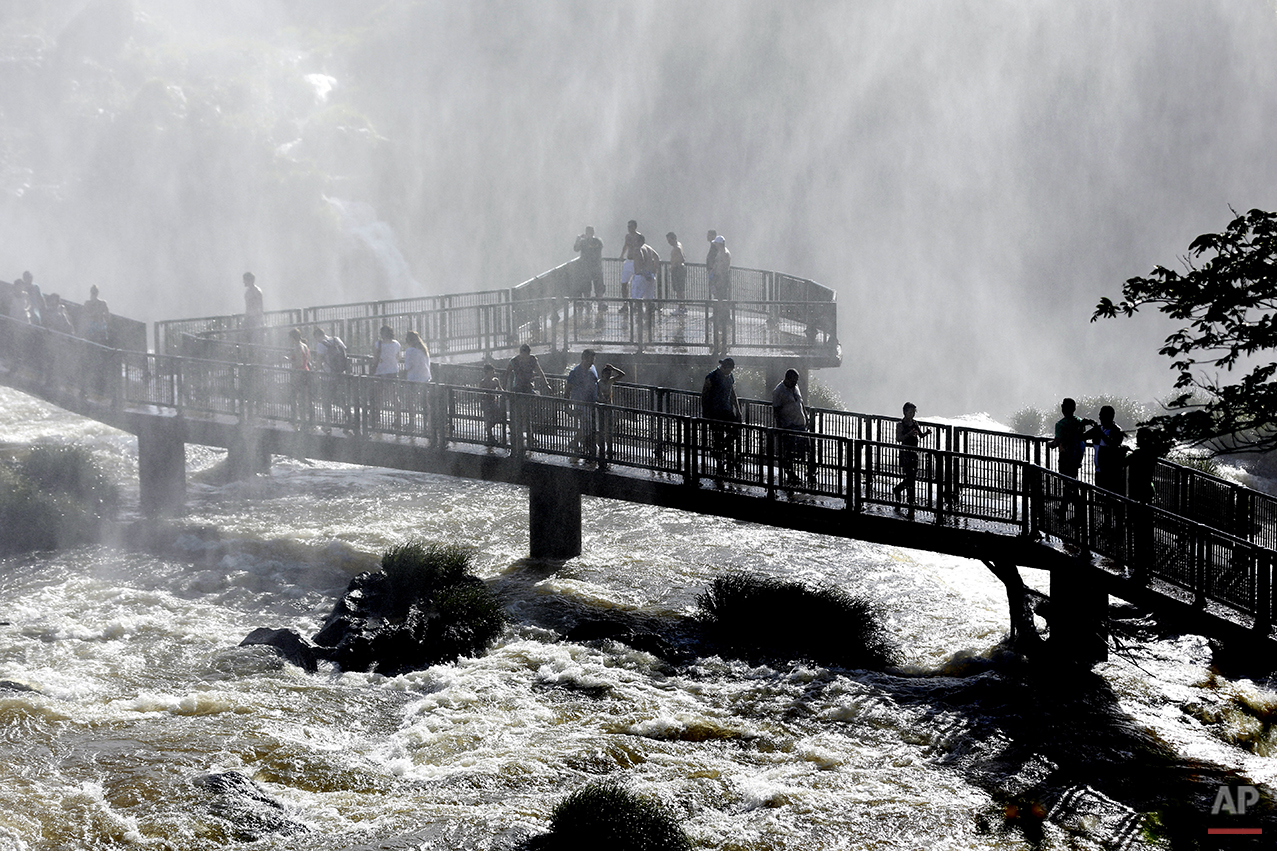 APTOPIX Brazil Iguazu Falls Photo Gallery