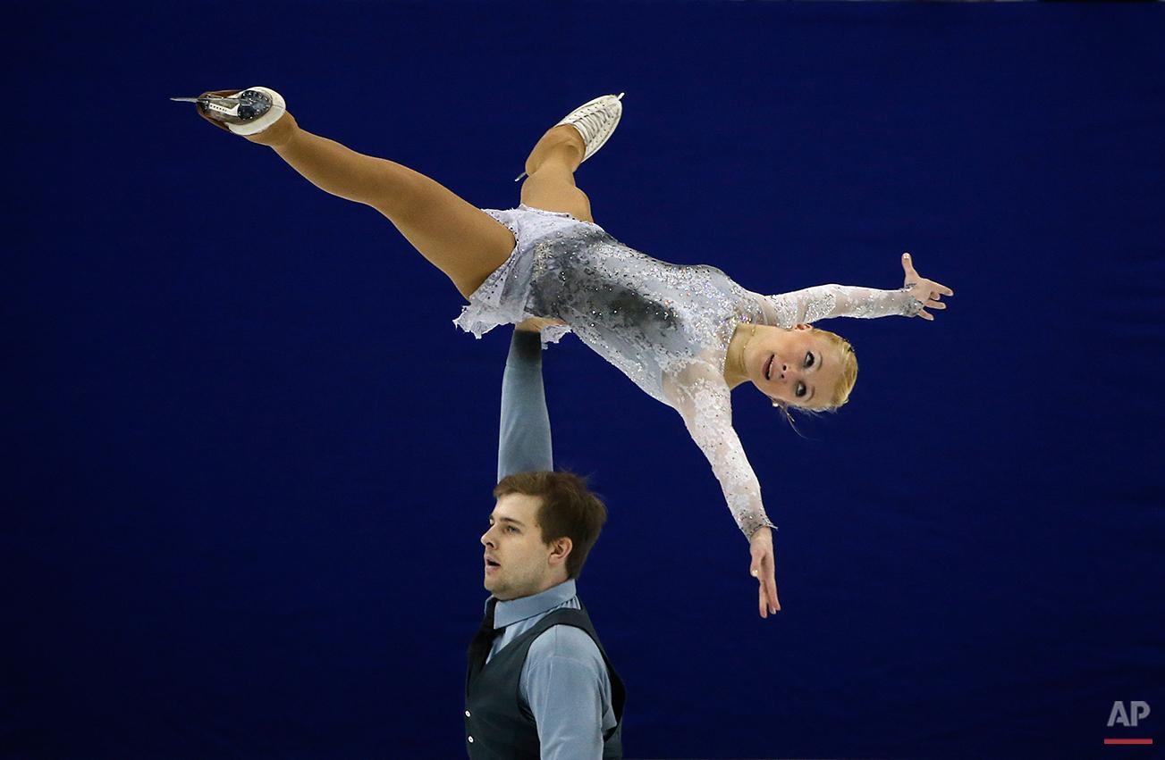 APTOPIX China World Figure Skating